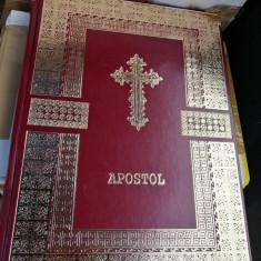Apostol in piele, Octoih Mare, Molitfelnic, Liturghier, Mineiul, Triodul