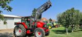 Tractor McCORMICK MC135 cu incarcator