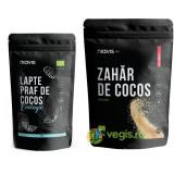 Lapte Praf de Cocos Ecologic/Bio 125g + Zahar de Cocos Ecologic/Bio 250g