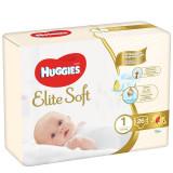 Scutece pentru copii Elite Soft 1, 3-5 kg, 26 bucati, Huggies