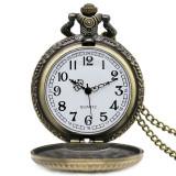 Ceas Buzunar Mason Echer si Compas cu litera G - Bronze