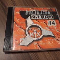 CD DJ ALLEN - HOUSE NATION VOL 4 ORIGINAL VELA