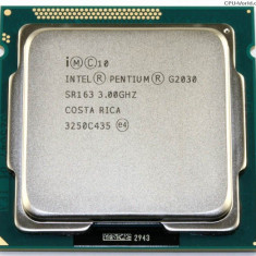 Procesor second hand Intel Pentium G2030, Dual Core 3GHz
