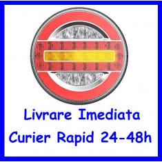 Lampa stop PREMIUM Camion Remorca Rulota LED SL-5020 12-24V AL-101019-16