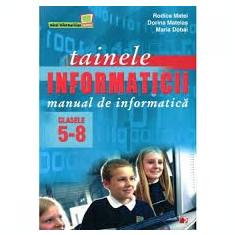 Rodica matei tainele informaticii manualul de informatica manual clasele 5-8