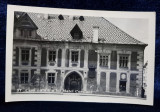 CASA NATALA A LUI MATEI CORVIN , CLUJ , CARTE POSTALA ILUSTRATA , MONOCROMA, PE HARTIE LUCIOASA , DATATA PE VERSO 1937