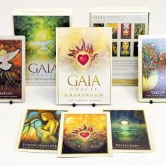 Gaia Oracle/Carti ORACOL/TAROT imagini superbe,ORIGINALE,Sigilat-LIVRARE IMEDIAT