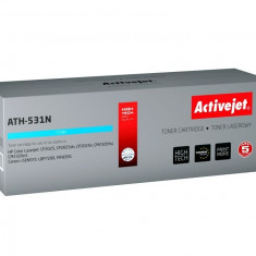 Cartus toner compatibil CC531A Cyan pentru HP 304A, Premium Activejet, Garantie 5 ani