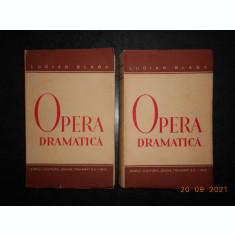 LUCIAN BLAGA - OPERA DRAMATICA 2 volume (1942, prima editie)