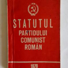 STATUTUL PARTIDULUI COMUNIST ROMAN 1979