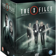 FILM SERIAL The X Files - Complete Season 1-11 [ 59 DVD ] BoxSet Sigilat, Engleza, independent productions