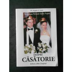 Pr. ARGATU V. IOAN - DESPRE CASATORIE (2007)