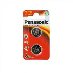 Set 2 x baterie 3V CR 2032 pentru telecomanda auto, Panasonic AllCars