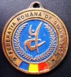 5.116 ROMANIA MEDALIE FEDERATIA ROMANA DE GIMNASTICA 49mm III