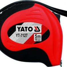 Ruleta cu stop automat si carlig magnetic 3 m x 16 mm YATO
