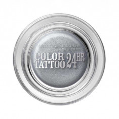 Fard De Pleoape Iluminator Maybelline Color Tattoo 24 Hr 50 Eternal Silver