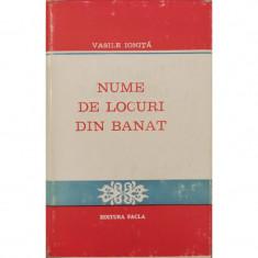 Nume de locuri din Banat - Vasile Ionita