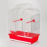 Colivie papagali IZA I chrome - 45 x 28 x 61,5cm