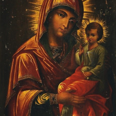 Icoana Maica Domnului cu pruncul - Icoana Rara - Pe comanda
