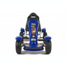 Kart cu pedale pentru copii Go Kart Albastru