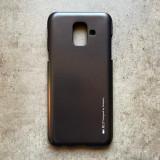 Cumpara ieftin Husa silicon metal I-Jelly Samsung A6 Plus, Negru