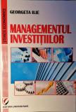 MANAGEMENTUL INVESTIȚIILOR - GEORGETA ILIE