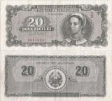 1950 (15 VI), 20 lei (P-84a) - România
