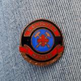 Insigna Salvator Minier - tema crucea rosie - medicina - fruntas - evidentiat
