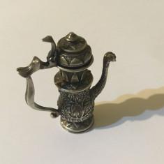 Miniatură ceainic de argint 825 (40 gr.) - Piesă superbă!