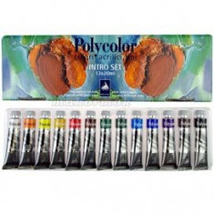 Culori acrilice Polycolor - Intro Set 13x20ml