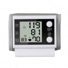 Tensiometru automat de incheietura ZK-W868YB, LCD, 200 memorii