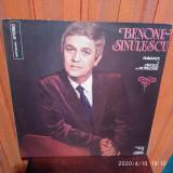 -Y-  BENONE SINULESCU - ROMANTE SI CANTECE DE PETRECERE  - DISC VINIL