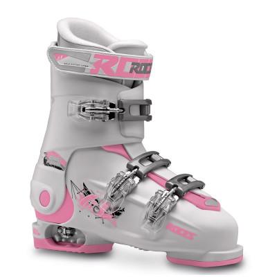 Clapari reglabili copii Roces Idea Free White/Deep Pink 3 clape foto