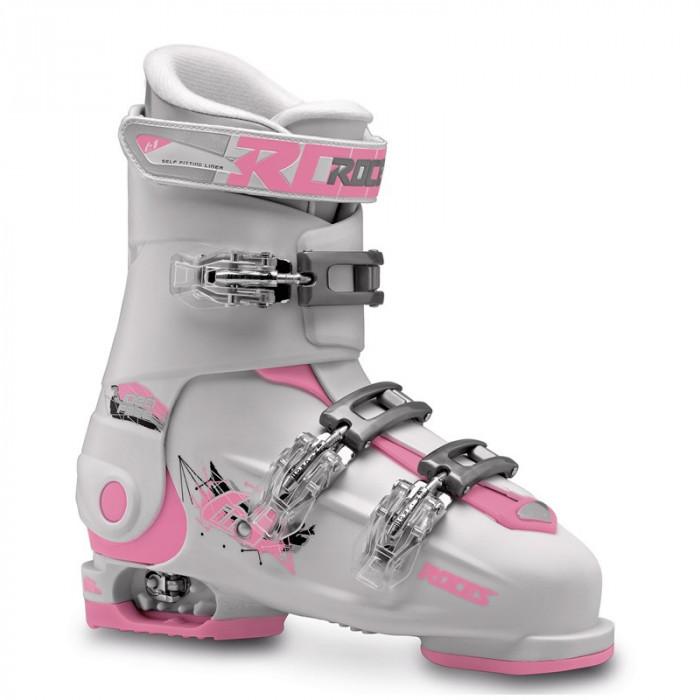 Clapari reglabili copii Roces Idea Free White/Deep Pink 3 clape