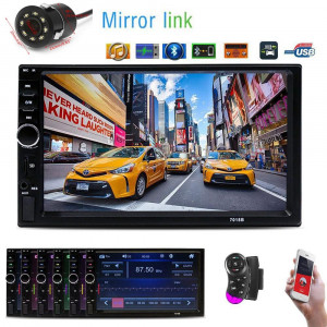 MP5 Player Auto Universal 7088 Camera 7 Inch Bluetooth MirrorLink Android