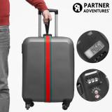 Curea pentru Bagaje cu Cântar și Cod de Securitate Partner Adventures