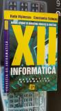 INFORMATICA MATEMATICA CLASA A XII A - VISINESCU ,SCHEAU
