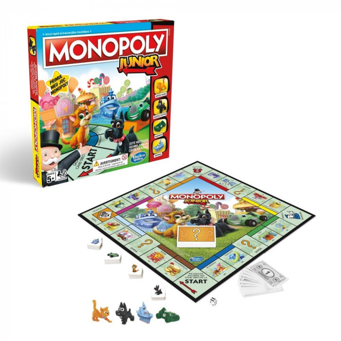 Joc de societate - Monopoly Junior in limba romana