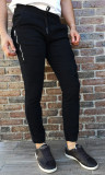 Pantaloni bretele- pantaloni barbati pantaloni slim fit- cod 216