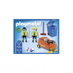 Agenti de salubritate cu masina - Playmobil