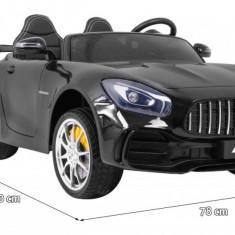 Masinuta electrica Mercedes-Benz GT R 4x4, negru metalizat