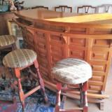 Bar din lemn de fag