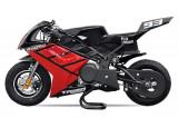Motocicleta electrica Pocket Bike NITRO Eco TRIBO 1060W 36V Rosu