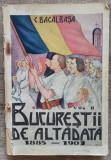 Bucurestii de altadata, 1885-1901 - Constantin Bacalbasa// 1928