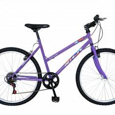 Bicicleta MTB HT 26 FIVE Finisher cadru otel culoare violet