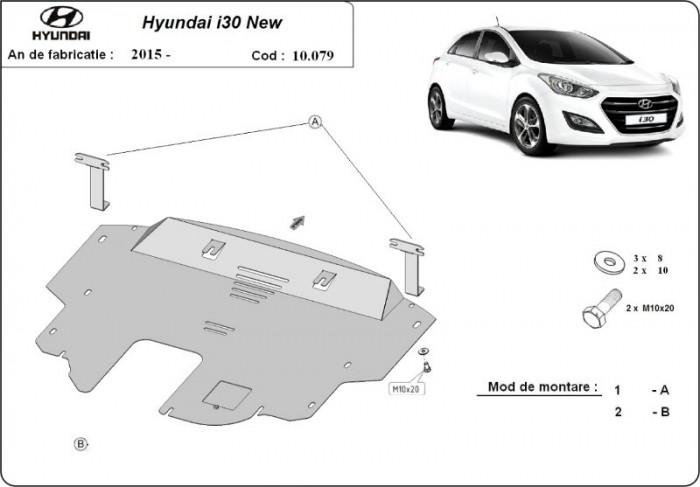 Scut motor metalic Hyundai I30 2015-2016