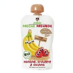 Piure de Banane Capsuni si Quinoa Bio Erdbar 100gr Cod: 4260249140400