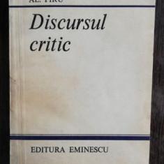 DISCURSUL CRITIC - AL .PIRU