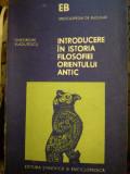 Introducere in istoria filosofiei Orientului antic, Gh. Vladutescu