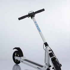 Trotineta electrica E-twow Eco, autonomie 25 km, viteza maxima 27 km/h, Alb